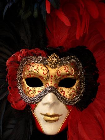Ornate Mask, Venice, Italy Photographic Print by Abdul Kadir Audah