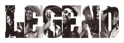 LEGEND: Bob Marley Plakater