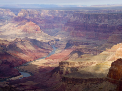 Colorado River and the Grand Canyon from the South Rim Photographic Print by Annie Griffiths Belt