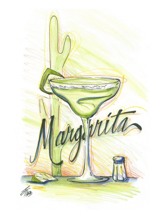 Drink up...Margarita Prints by Jay Throckmorton