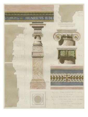 Palais de Fontainbleu I Prints by Rod Pfnor