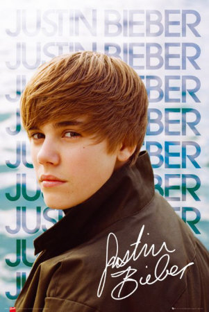 Exclusive Justin Bieber Photo Maxi Poster from gbposters.com