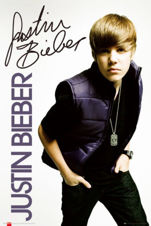 Justin Bieber Posters on Justin Bieber