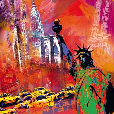 New York Art by Robert Holzach