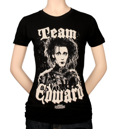 Juniors: Edward Scissorhands - Team Edward T-Shirt