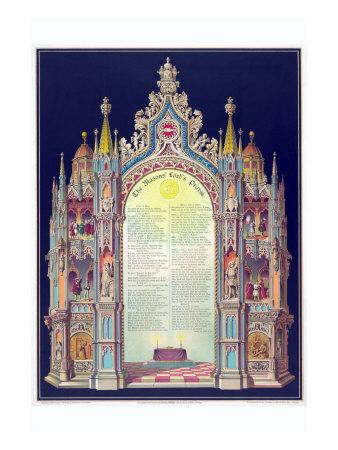 Symbols -Masonic Lord's Prayer Posters