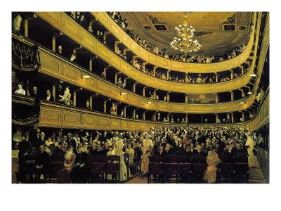 Hall Poster by Gustav Klimt