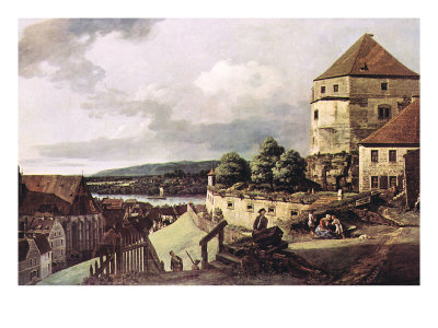 View of Pirna Premium Poster