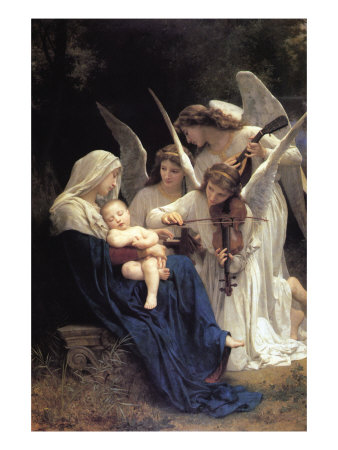 Song of The Angels Prints by William Adolphe Bouguereau