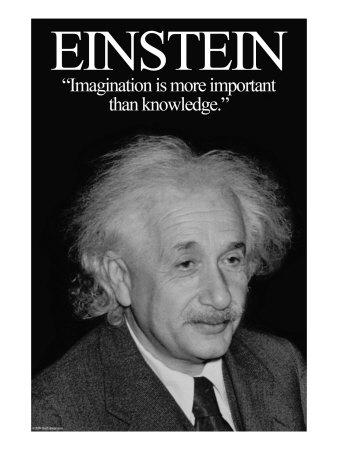Einstein Poster by Wilbur Pierce