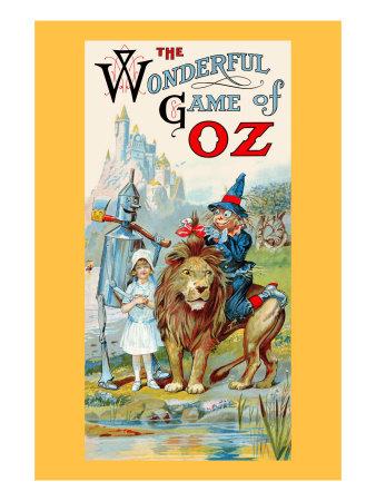 Thewonderful Game of Oz Prints by John R. Neill