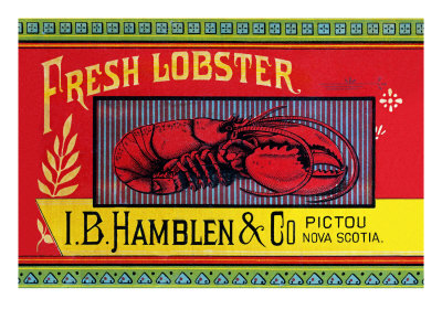 Fresh Lobster Premium Poster
