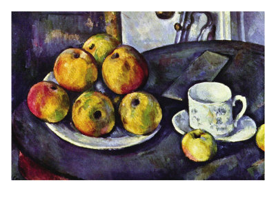 Still Life with Cup and Saucer Art by Paul Cézanne
