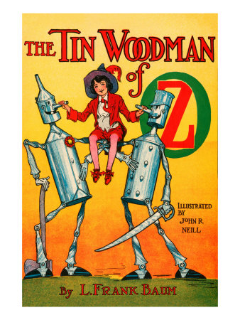 Thetin Woodsman of Oz Prints by John R. Neill
