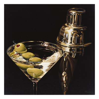 Extra Olives Giclee Print by Ray Pelley