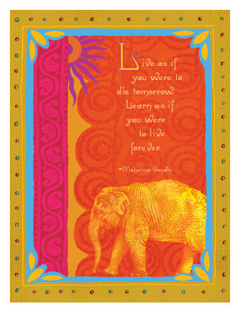 Live and Learn Giclee Print