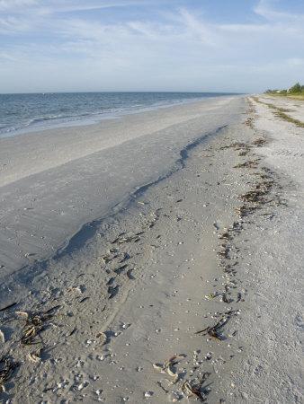 Beach, Sanibel Island, Gulf Coast, Florida, United States of America, North America Photographic Print by Robert Harding