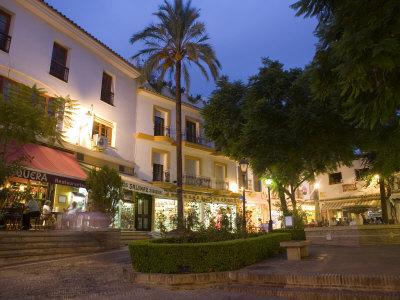 Old Town, Marbella, Malaga, Andalucia, Spain, Europe Photographic Print by Marco Cristofori