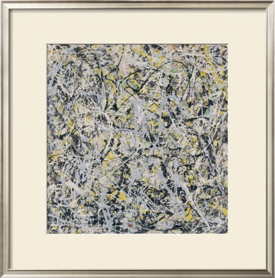 No. 4, 1949 Prints by Jackson Pollock