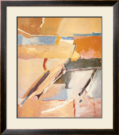 Berkeley No. 8 Print by Richard Diebenkorn