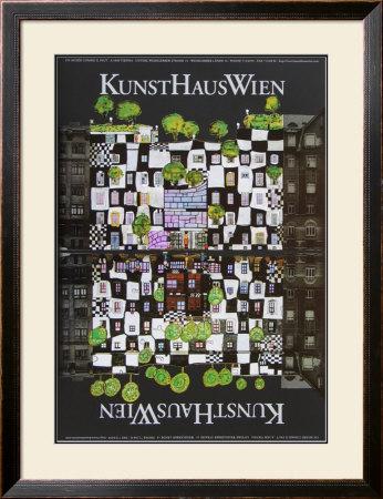 Kunsthaus Wien Prints by Friedensreich Hundertwasser