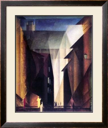 Barfusserkirche , 1924 Posters by Lyonel Feininger