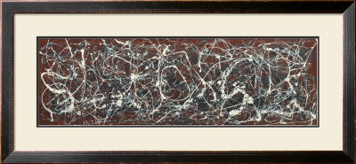 Number 13A: Arabesque Prints by Jackson Pollock