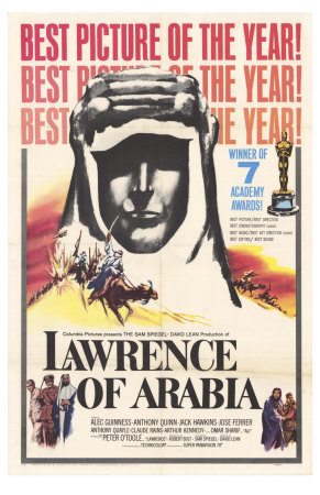 Lawrence of Arabia, 1963 Premium Poster