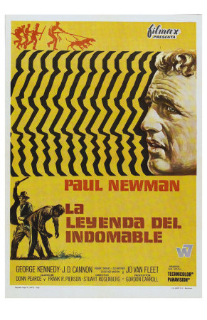 Cool Hand Luke, Spanish Movie Poster, 1967 Premium Poster