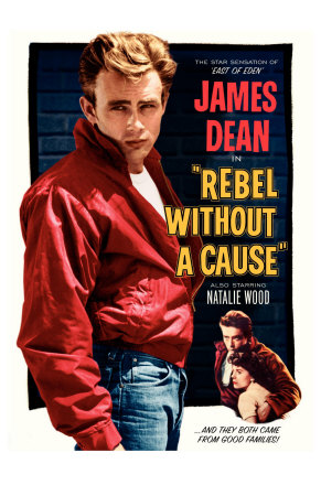 Rebel bez příčiny /Rebel Without a Cause, 1955 (filmový plakát vangličtině) Premium Poster