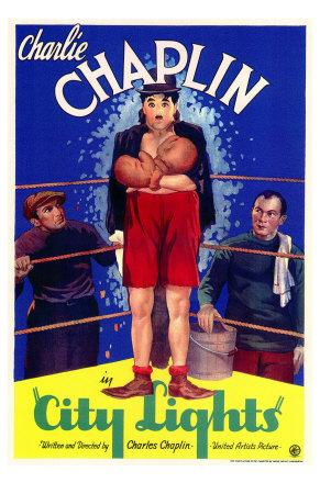 City Lights, 1931 Premium Poster