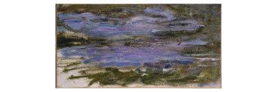 Nympheas, c.1917-18 Giclee Print by Claude Monet