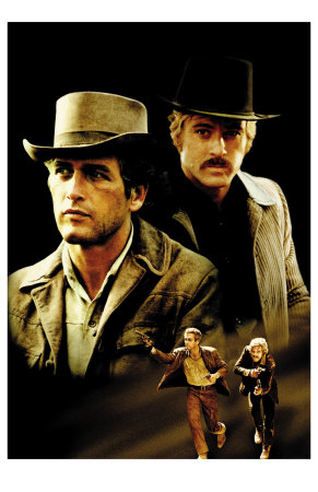 Butch Cassidy and the Sundance Kid, 1969 Premium Poster