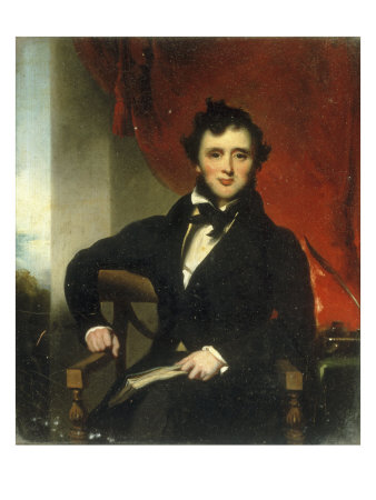 Portrait of a Gentleman Giclee Print by George Chinnery