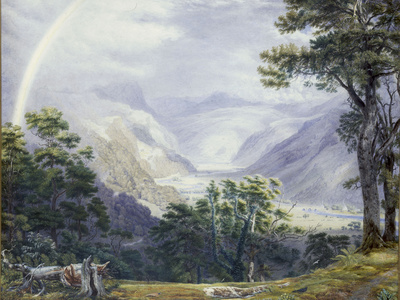The Vale of Ffestiniog, from Tan-Y-Bwlch Hall reproduction procédé giclée