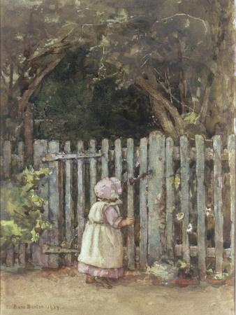 At the Garden Gate, 1927 Giclee Print by Rose Maynard Barton