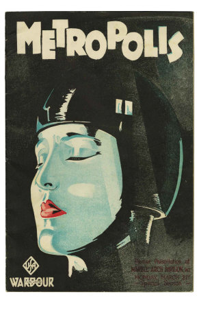 Metropolis, UK Movie Poster, 1926 Premium Poster