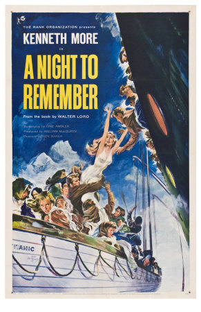 A Night to Remember, 1958 Premium Poster