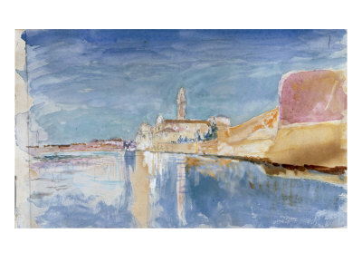 View of a Church in Venice, 1877 Giclee Print by John Ruskin