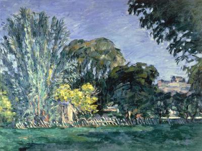Arbres au Jas de Bouffan, c.1875-6 Giclee Print by Paul Cézanne