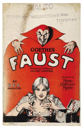 Faust (1926) affiche