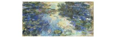 Le Bassin aux Nympheas, c.1917-19 Giclee Print by Claude Monet