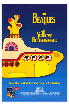 Yellow Submarine, 1968 Premium Poster