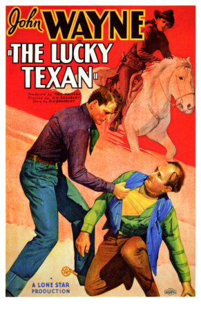 The Lucky Texan Premium Poster