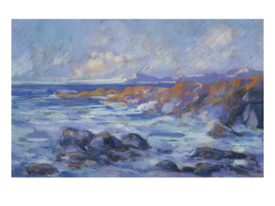 Paysage, c.1872 Giclee Print by Jean-Baptiste-Armand Guillaumin