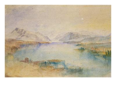 The Rigi, Lake Lucerne Giclee Print by J. M. W. Turner