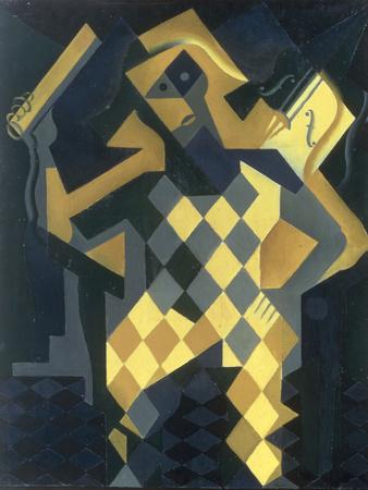 L'Arlequin au Violon, 1919 Giclee Print by Juan Gris