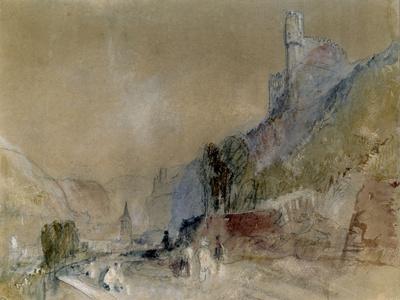A View on the Rhine Giclee Print by J. M. W. Turner