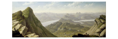 South Western View from Ben Lomond Giclee Print by John Knox