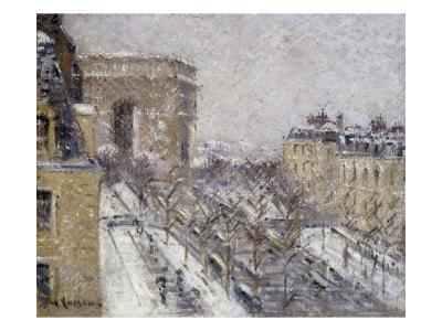 L'Arc de Triomphe, Paris France Giclee Print by Gustave Loiseau